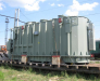 Büyük tonajlı yüklerinin özel vagonlarla taşıması