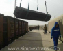 Delivery of goods from Turkey to Uzbekistan with transshipment at Sarakhs station Turkmenistan