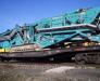 Carriage of drilling equipment, crushers, screening equipment
