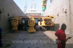 Sea transportation of drilling machines from USA, Europe, Turkey