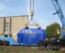 Railway transportation of transformers, Diesel generating sets, rotors, starters