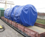 Railway transportation of diesel generators