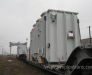 Lashing of the electrical transformer on 8-axle transporter