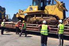 Железнодорожные перевозки строительной техники из Поти и Батуми Грузия