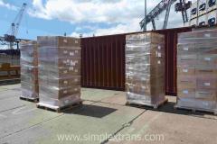 Морские контейнерные перевозки из Израиля в Новороссийск, Поти, Одессу