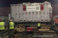 Железнодорожная перевозка трансформаторов и электрооборудования из Европы, Турции в страны СНГ