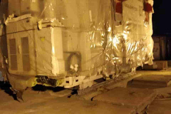 Перегруз трансформаторов на ЖД вагоны по станции Брест Беларусь