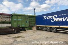 Железнодорожные перевозки в Монголию
