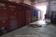 Перевалка грузов на станции Достык и Алтынколь Казахстан