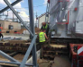 Truck delivery of power transformers in Belarus