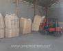 Cargo handling at Aqina rail station Afghanistan