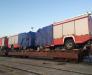 Der Transport von Fahrzeugen in Afghanistan