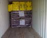 Der Transport von Containern aus der Türkei