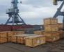 Die Lieferung der Anlagen aus dem Hafen von Jebel Ali (VAE) bis den Hafen von Poti und Batumi in Georgien