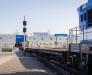 Rail freight transportation from Georgia, Ukraine, Russia, Azerbaijan using railway ferries in the port of Alat (Azerbaijan)
