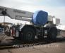Der Schienentransport der Fahrzeuge in Kasachstan