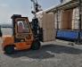 Forwarder services in the port of Alat (Baku Azerbaijan)