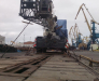 Railway transport of road equipment from Europe to Turkmenistan