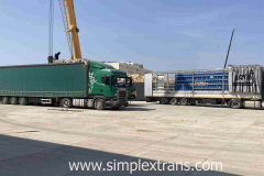 Freight forwarding in the port of Aktau Kazakhstan