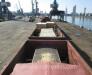Donatımın açık vagona yüklenmesi ve sabitlenmesi. (Gürcistan) Batumi deniz limanı.