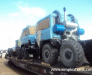 Rail transportation of vehicles, excavators, truck cranes, bulldozers from Europe to Mongolia