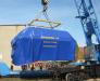 Railway transportation of diesel generators