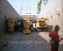 Sondaj kulesi, konkasör, tarama ekipmanları taşımacılığı.