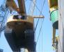 Madencilik ekipmanlarının demiyoluyla taşıması