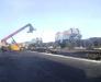 Ukrayna'daki Chop (Lviv) istasyonu üzerinden inşaat donatımının teslim edilmesi