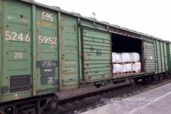 Transport feroviar marfă pe teritoriul Rusiei (RZD).