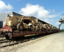 Transports ferroviaire vers les stations Hairatan et Turghundi Afghanistan
