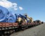 Transport ferroviaire de véhicules en Afghanistan