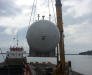 Transbordement de fret dans les ports de la Turquie