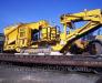 Transport ferroviaire des engins de chantier