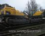 Transport ferroviaire d'équipements pour la construction de routes