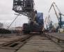 Transport ferroviaire d'engins de chantier pour les routes de l'Europe en Turkménistan
