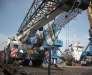 Transportarea utilajului agabaritic prin porturile Poti si Batumi Georgia