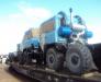 Transportarea utilajului in Mongolia