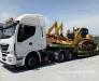 Livrarea echipamentelor de construcții din Turcia, Europa către țările CSI