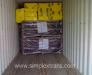 Türkiye'den Kırgızistan'a inşaat malzemeleri nakliyesi