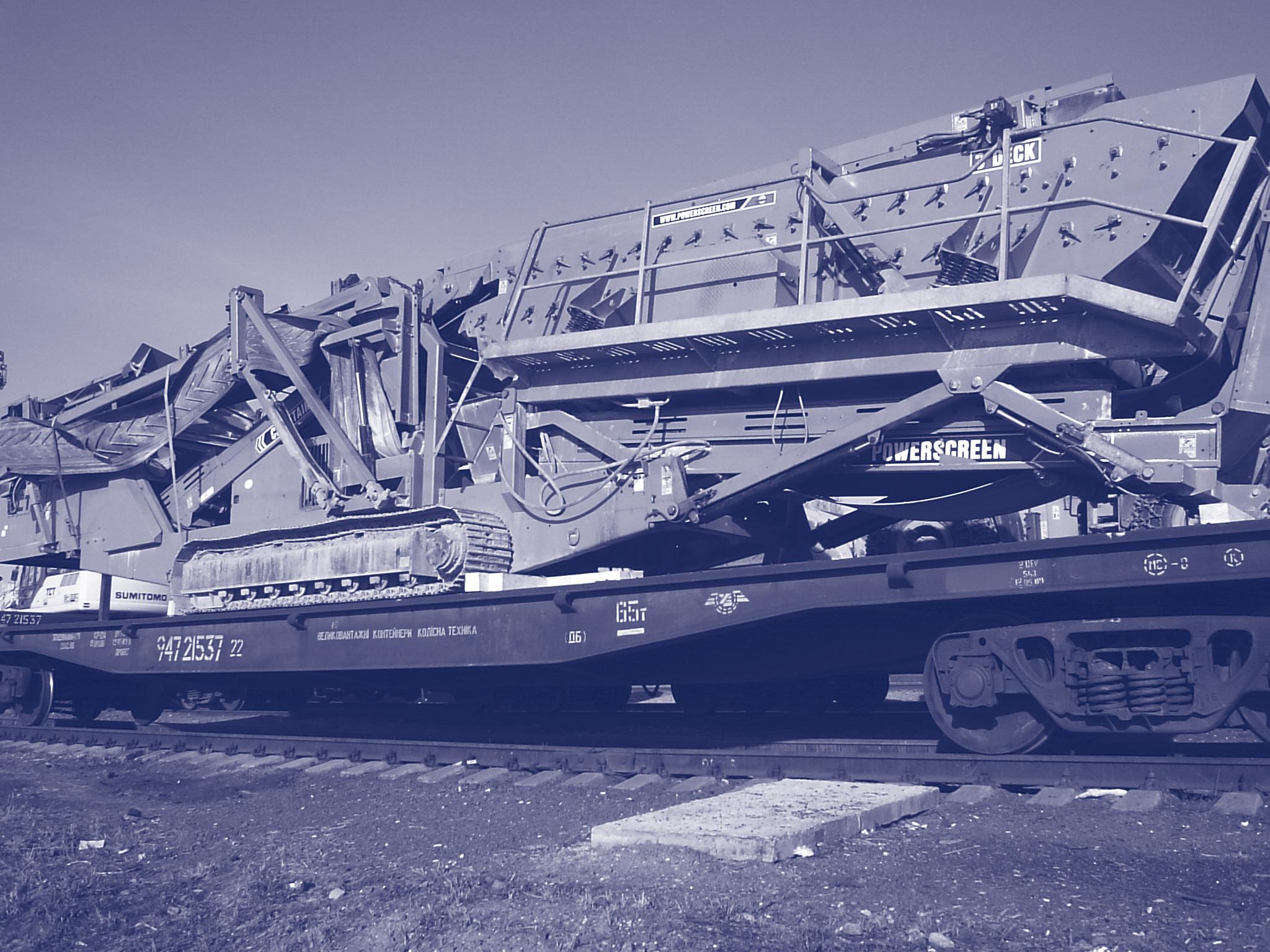 Transport d'installations de forage, des concasseurs
