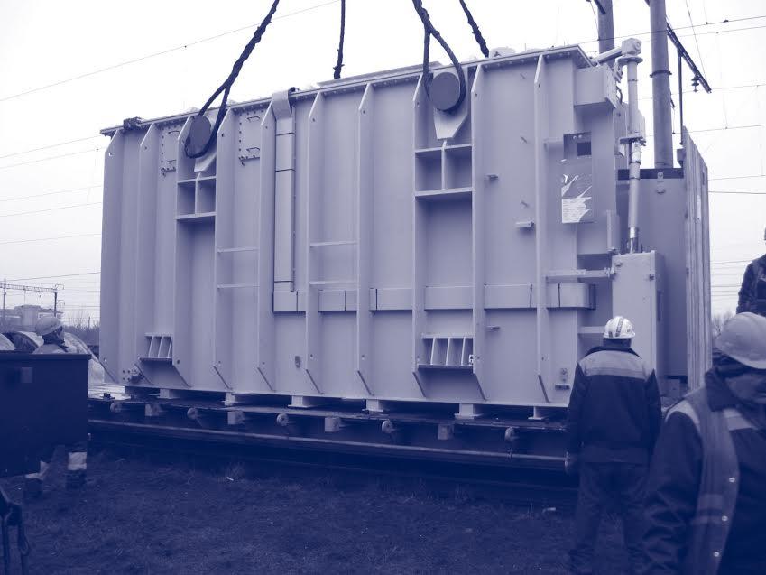 Beförderung von Transformatoren, Diesel-Stromerzeugungsaggregaten, Rotoren, Anlassern