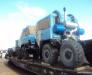 Перевозка колесной техники железнодорожным транспортом в Монголию