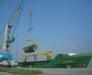 Transport von übergroße Ladungen via den Hafen von Poti und Batumi (Baumaschinen, große Anlagen, Metallkonstruktionen, usw)