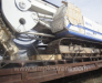 Railway transportation of drilling rigs and screens