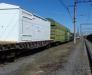 Погрузка и крепление компрессорной станции на железнодорожную универсальную платформу