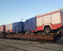 Доставка колёсной техники в Афганистан