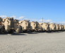 The military transport to Afghanistan