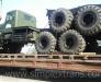Transportation of wheeled machinery from Bulgaria to Russia, Ukraine, Tajikistan, Uzbekistan, Kyrgyzstan, Kazakhstan, Turkmenistan