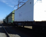 Rail freight transportation of equipment from Russia to Central Asia